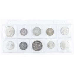 Group (10) Coins Israel 2.4537 ASW