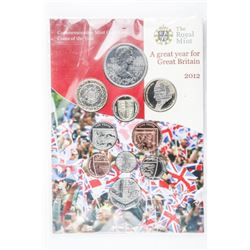 Royal Mint 2012 - Coins of the Year Folio