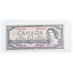 Bank of Canada 1954 10.00 B/C