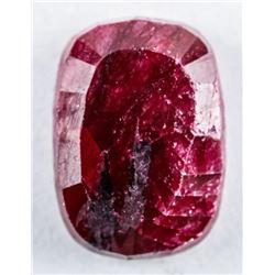 Loose Gemstone 9.55ct Rectangular Cut Ruby.  TRRV: $2870.00
