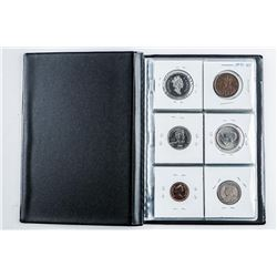 12 Coin Starter Collection Stock Book with  'Silver'