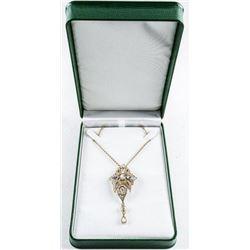 MM Crystal - Designer Fancy Necklace, Bezel  and Bead Set Swarovski Elements