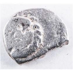 Ancient Greek City of Apollo 450-350 BCE.  'Medusa Head' Silver Drachm Coin