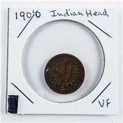 1900 US Indian Head Penny VF
