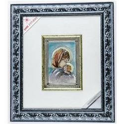 """ITALY 925 Solid Sterling Silver - Wall Plaque  Gallery Frame. 14x16"""""""