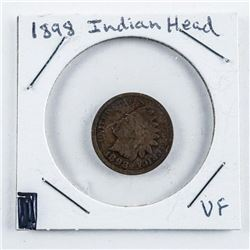 1895 US Indian Head Penny VF