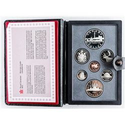 RCM 1984 Proof Mint Set with Silver