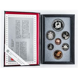 1988 Proof Coin Set RCM