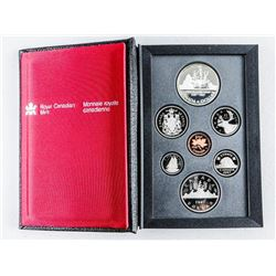 RCM 1987 Proof Coin Set with Silver