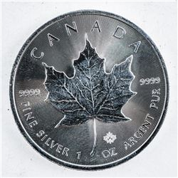 .9999 Fine Silver $5.00 Coin 2016 Maple Leaf