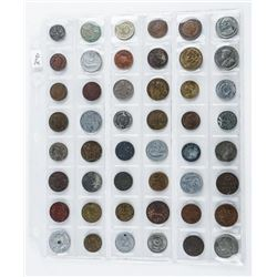 Group (48) World Coins