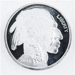 USA .999 Fine Silver Buffalo Round. 1oz.