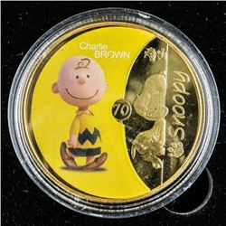 SNOOPY Gold Plated - Medallion