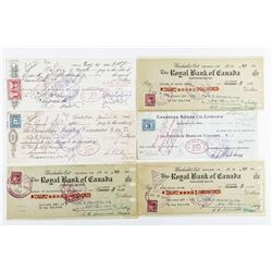Estate Lot - Important Financial Instruments  1932-1940's with Excise Stamps