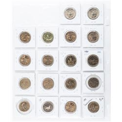 Group of (18) Canada Special Issue 1.00 Coins