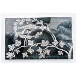 925 Solid Sterling Silver 'The St. Jean  Baptiste Flag' (67.88) grams