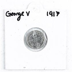 1917 George V 5 Cent