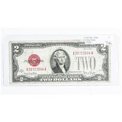 United States Note FR#1508 1928G. $2.00 Fine