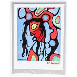 Norval Morrisseau (1931-2007) CANADA'S  PICASSO OF THE NORTH - 'Soul Vision'  Publisher's Proof 2/24