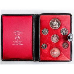RCM 1973 Prestige Specimen Coin Set with  Leather Case