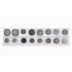 Group of (16) Silver Coins, World