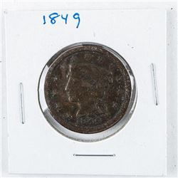 1849 US One Cent