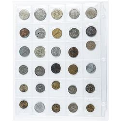 Group (30) World Coins