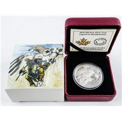 .9999 Fine Silver $20.00 Coin 'Legend of  Nanaboozhoo' LE