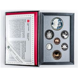 RCM 1992 Proof Mint Set with Silver