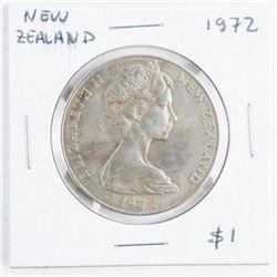 New Zealand 1972 1.00 Coin CAT 250 USD