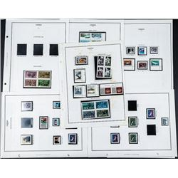 Estate Group (8) Pages Canada 1970s-1990s  Mint Stamps