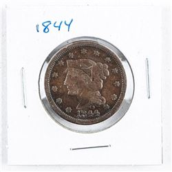 1844 USA One Cent