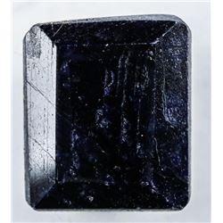 Loose Gemstone (12.41ct) Rectangular Cut Blue  Sapphire. TRRV: $3720.00