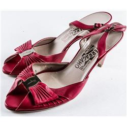 NEW Ladies Ferragamo Red Heels Size 8.5 (MXR)