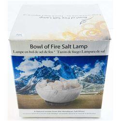 Bowl of Fire Salt Lamp