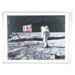 "Apollo II - 1969 First Man on the Moon. Fine  Art Print. 18x22"""