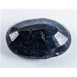 Loose Gemstone 7.67ct Oval Cut Blue Sapphire.  TRRV: $2300.00