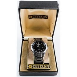 Estate CITIZEN Watch Gents - Eco-Drive  Platinum Edition, Metal Band with Extra Links