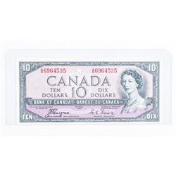 Bank of Canada 1954 $10 Devils Face.
