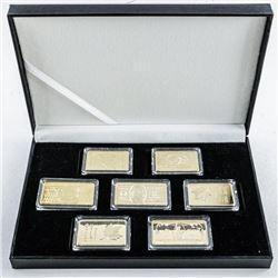 Collection - Gold Plated 1oz Bars 'Novelty'  (No karat Gold)