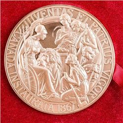 1867 Confederation Bronze Medal with Case