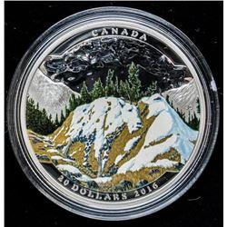 Landscape Illusion Mountain Goat .999 Fine  Silver $20.00 - LE 5500 Worldwide. 1 Troy  Ounce