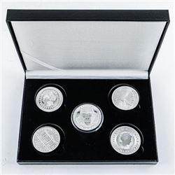 Bullion Collection .9999 Fine Silver Round  Coins. All 1oz 5oz ASW
