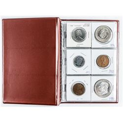 Starter Coin Collection with 18 Coins, Stock  Book and Bank of Canada 2.00
