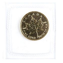 Collector Gold Bullion 24kt Pure .9999 Fine   Gold Maple Leaf Coin '2006' Highly  Collectible Coin