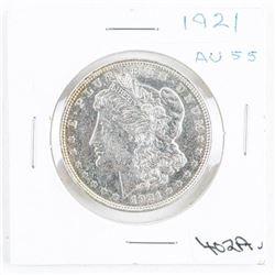 1921 US Morgan Dollar AU55