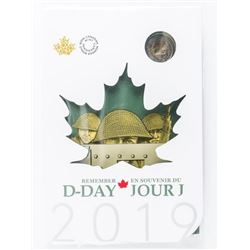 Remember D-DAY 2019 Special Coin Folio with  Colour 2.00