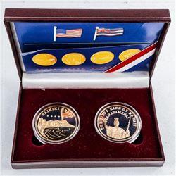 ALOHA - Hawaii 2 Coin Set