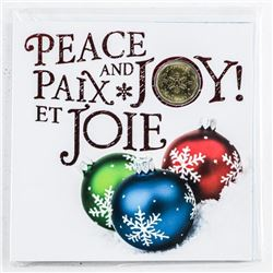Peace and Joy - UNC Coin Folio with Special  Issue Loon