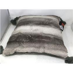 Ugg Grace Charcoal 20 x 20 Toss Pillow